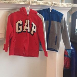 Other - 2 boys zip up sweaters